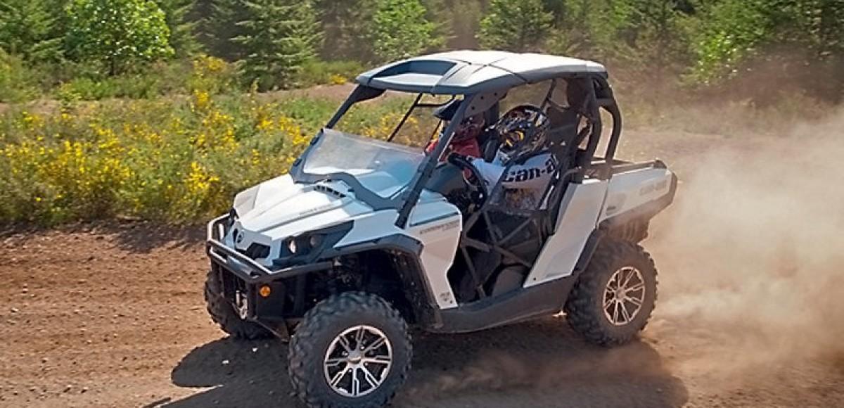 Can-Am ATV и SSV 2013. Геометрия драйва