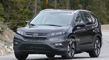 Обновленный кроссовер Honda CR-V ожидается в этом году