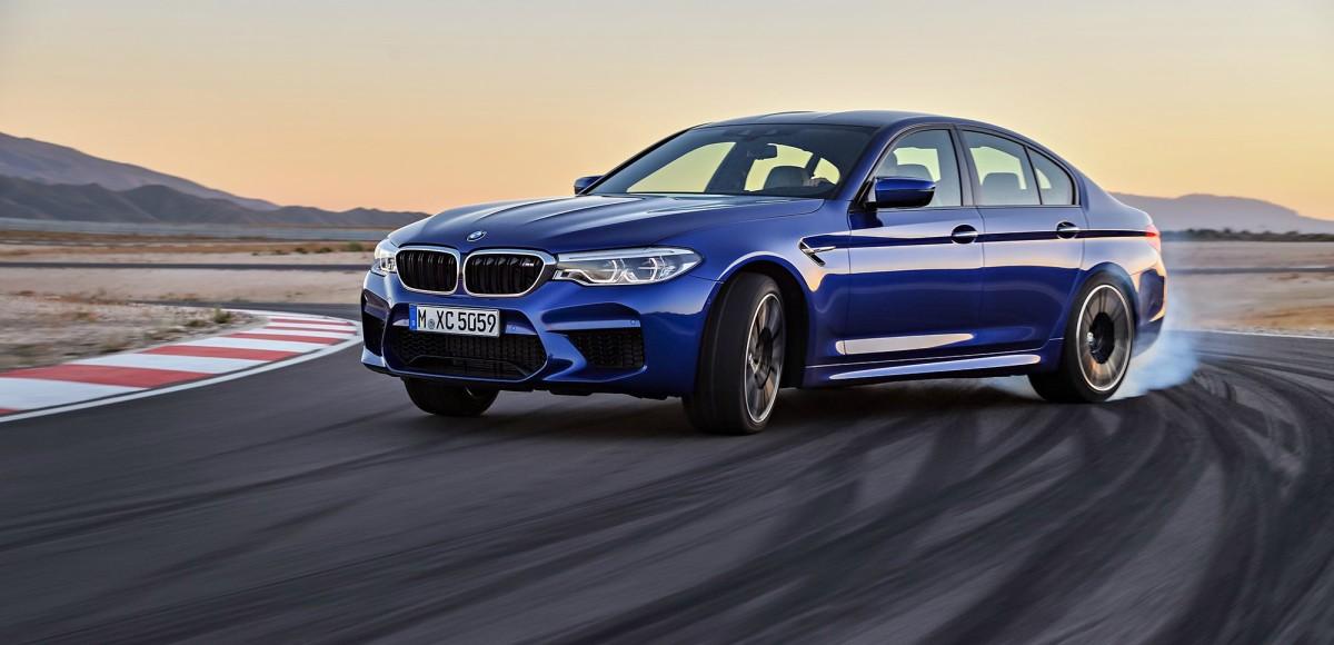 BMW M5: Полный привод и 600 «лошадей»