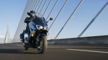 Yamaha T-Max. Принц скорости