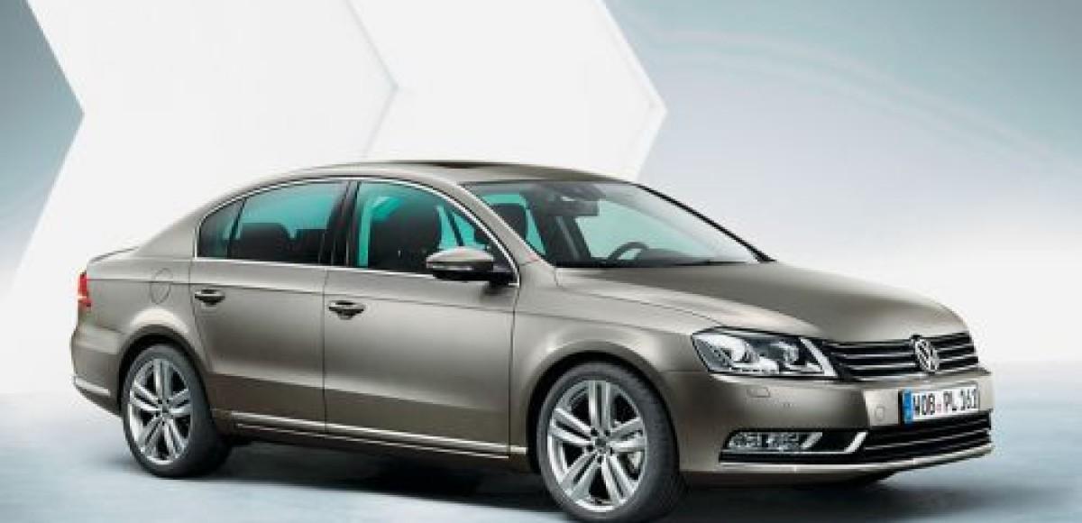Volkswagen Passat. Считайте ребра