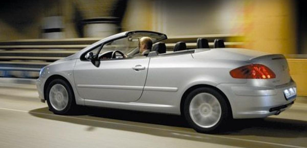 Peugeot 307 CC. Бес крыши