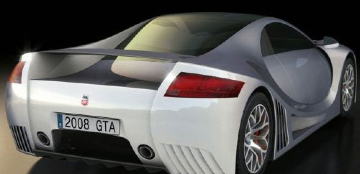 Испанский суперкар GTA Concept покажут в конце апреля