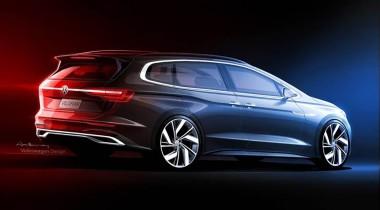 Volkswagen Viloran: новый конкурент Toyota Alphard