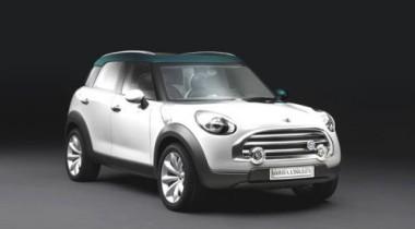 На парижском авто-шоу состоится мировая премьера Mini Crossover