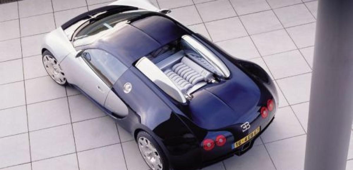 В Китае на аукционе продан первый Bugatti Veyron