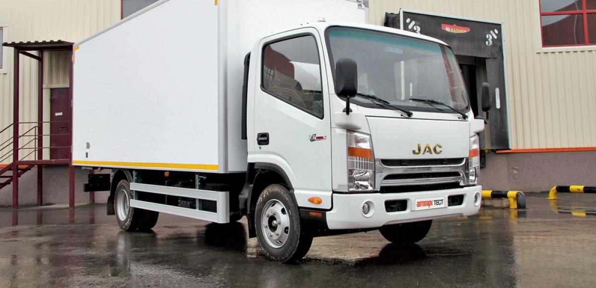 JAC N75: трудяга из КНР