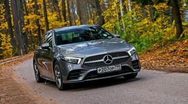 Тест-драйв Mercedes-Benz A200 Sedan. Самый дешевый седан «Мерседес» против стереотипов