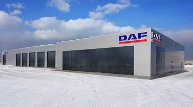DAF открыл сервисную станцию в Екатеринбурге