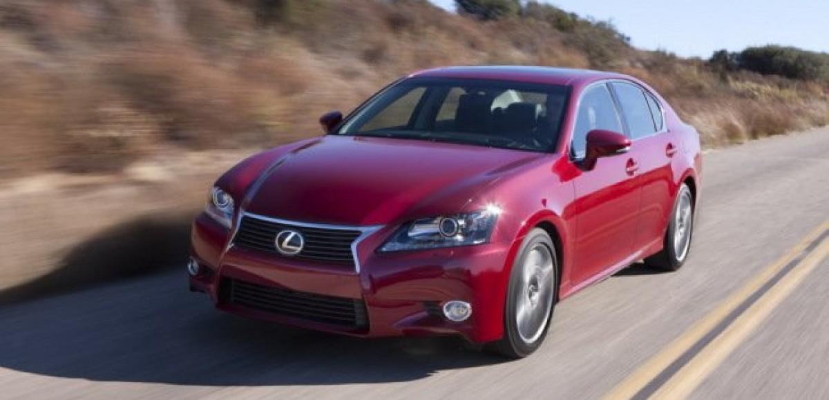 Lexus представил новый GS 250