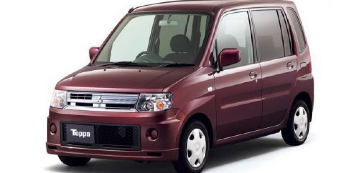 Mitsubishi подготовила для японского рынка новый Toppo