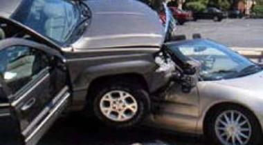 Автомобильная авария на Садовом Кольце