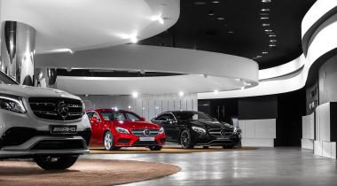 Mercedes открыл первый Brand Store в России