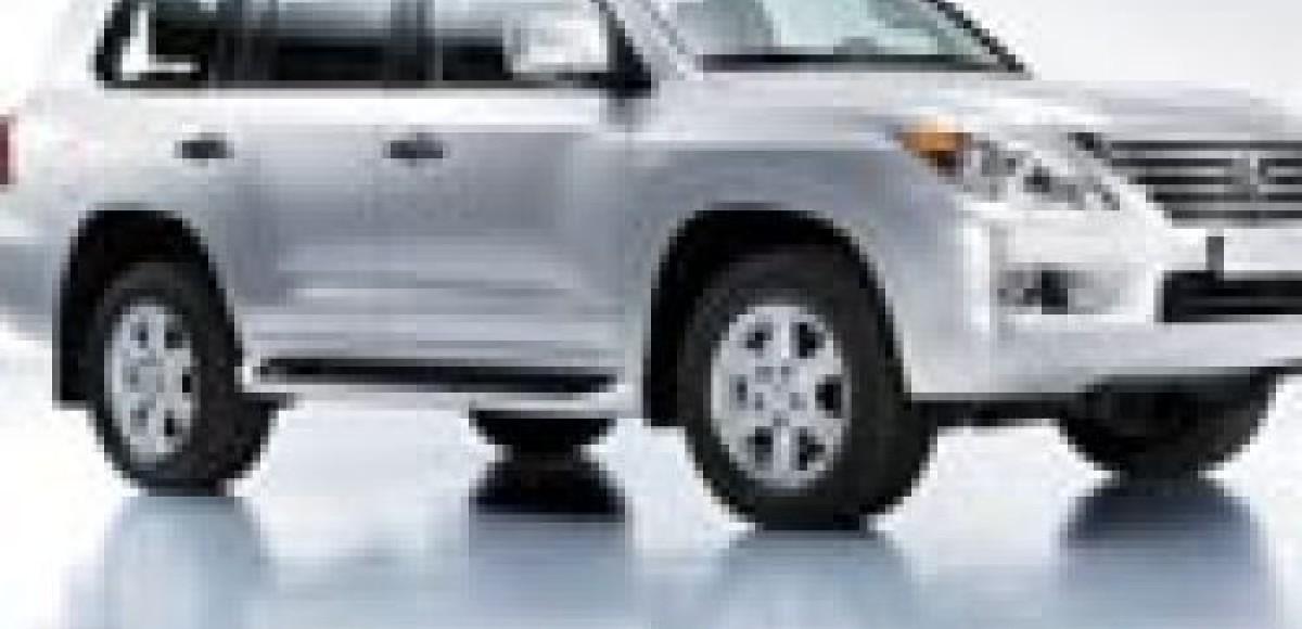 Toyota преставляет в России внедорожник Lexus LX 570