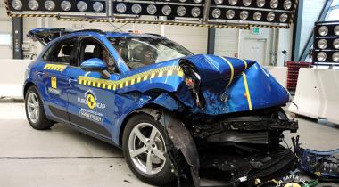 Первый Porsche был «разбит» на краш-тестах EuroNCAP