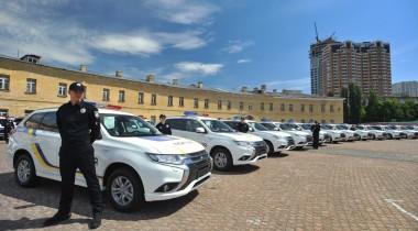 Украинская полиция получила гибриды на 25,4 млн евро