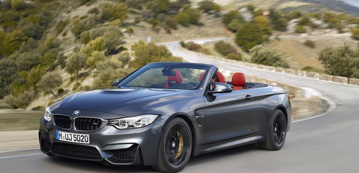 BMW объявила цены на новый кабриолет M4