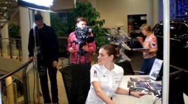 МузТВ снимает сцены своего сериала в АВТОDОМе