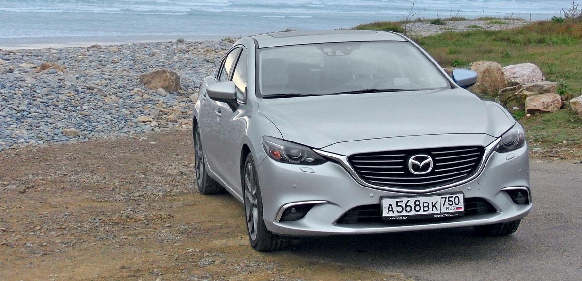 Mazda 6. Километры, литры и рубли