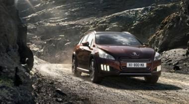 Peugeot представил дизельный гибрид 508 RXH
