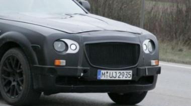 Папарацци засняли тесты Rolls-Royce начального уровня