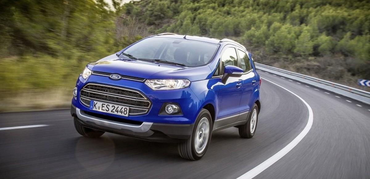Ford EcoSport и 3 его конкурента