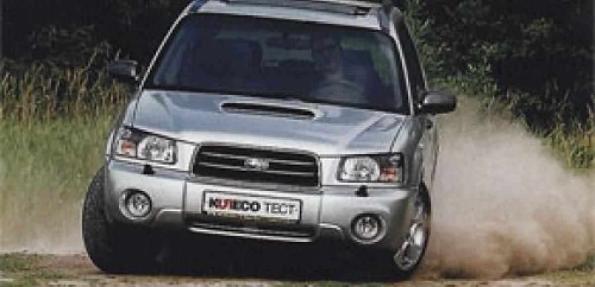 Subaru Forester 2.0 XT. Печать интеллекта
