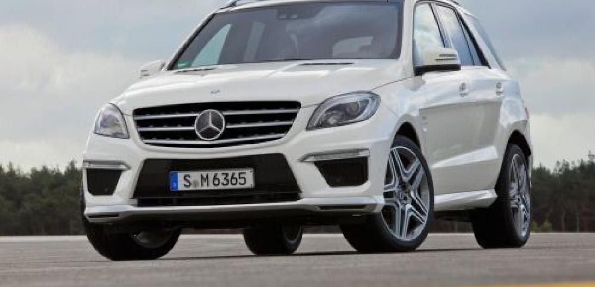 Компания Mercedes-Benz  представила «заряженный» внедорожник ML 63 AMG