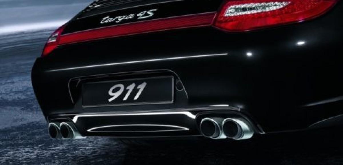 Porsche предлагает спортивный выхлоп для 911-й серии