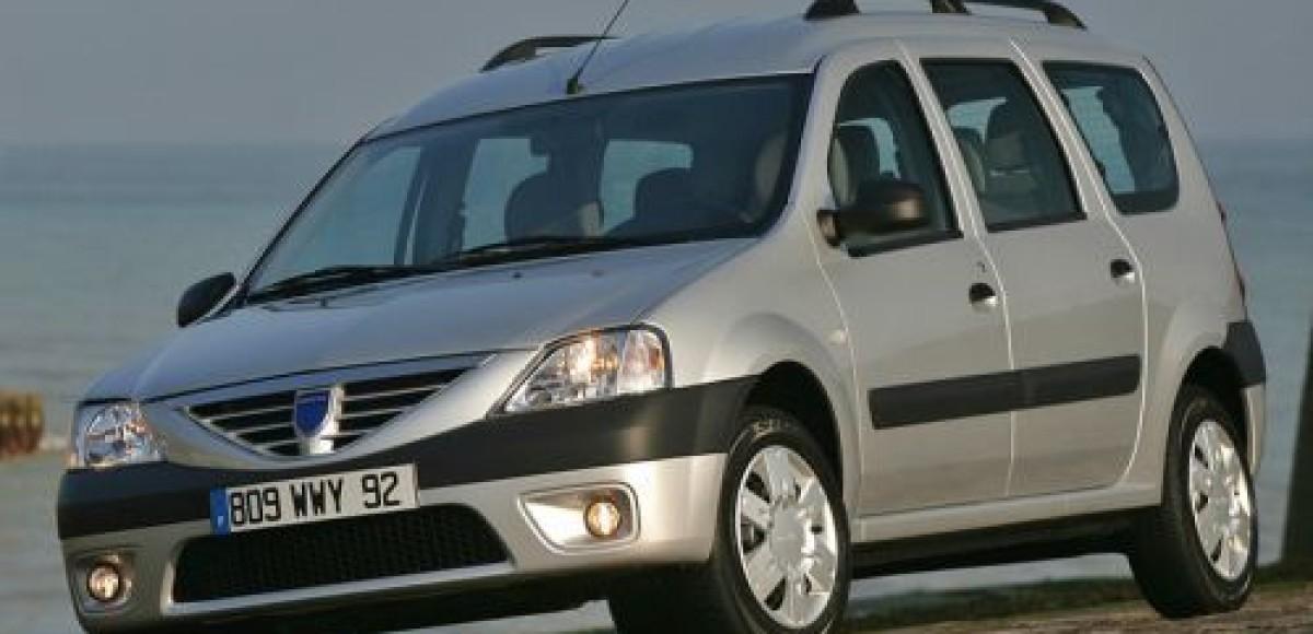 Минивэны Renault Logan MCV будут собираться под брендом Lada