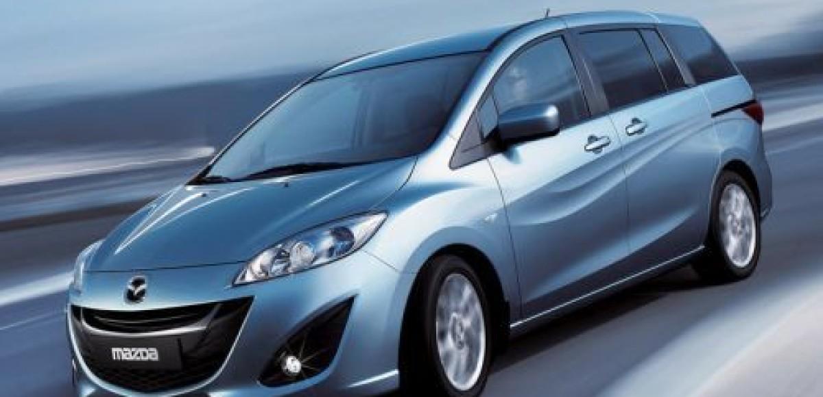 Премьера новой Mazda5 состоится в Женеве