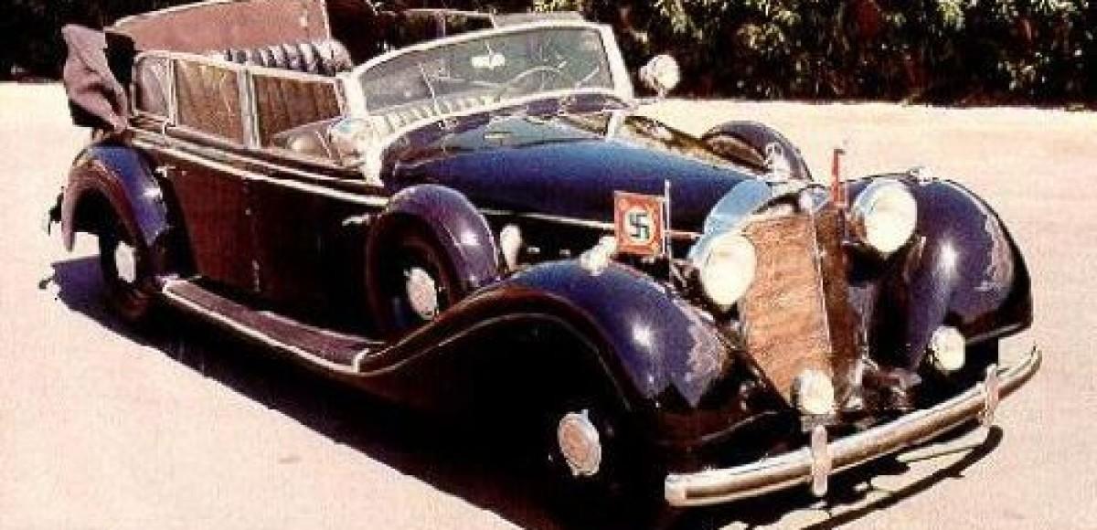 В Непале хотят восстановить Mercedes, подаренный Гитлером королю Непала