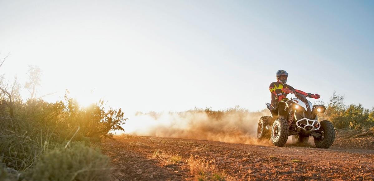 Квадроциклы Can-Am 2016 MY. Много — не мало