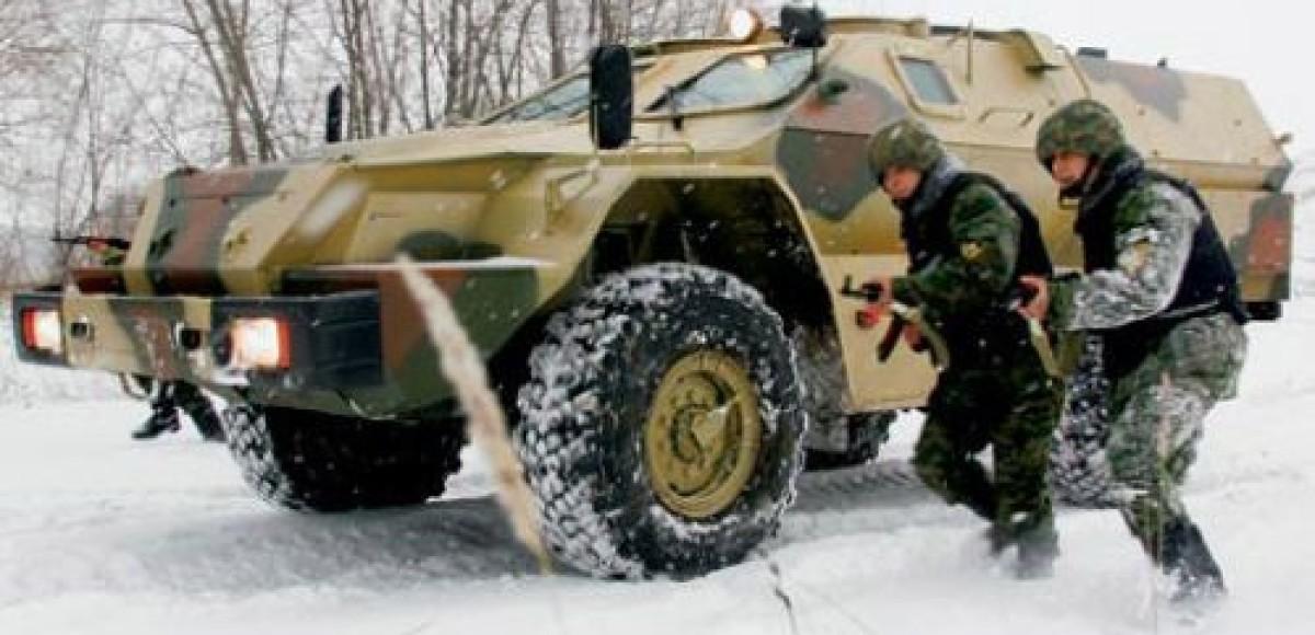 В войсках МВД КАМАЗ заменит БТР