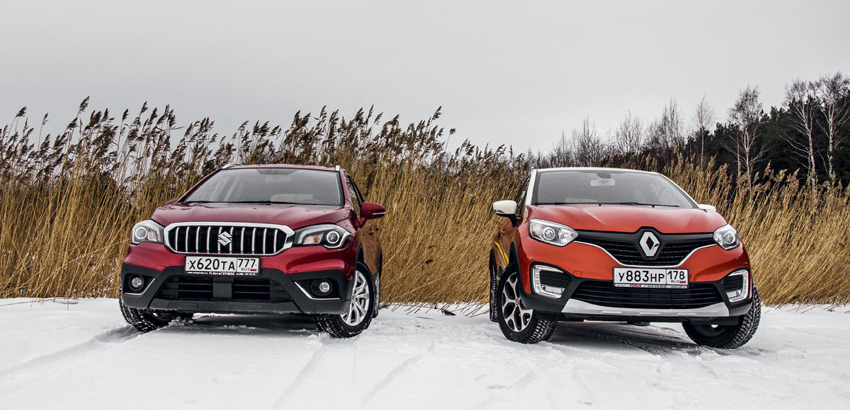 Renault Kaptur против Suzuki SX4. Переоценка