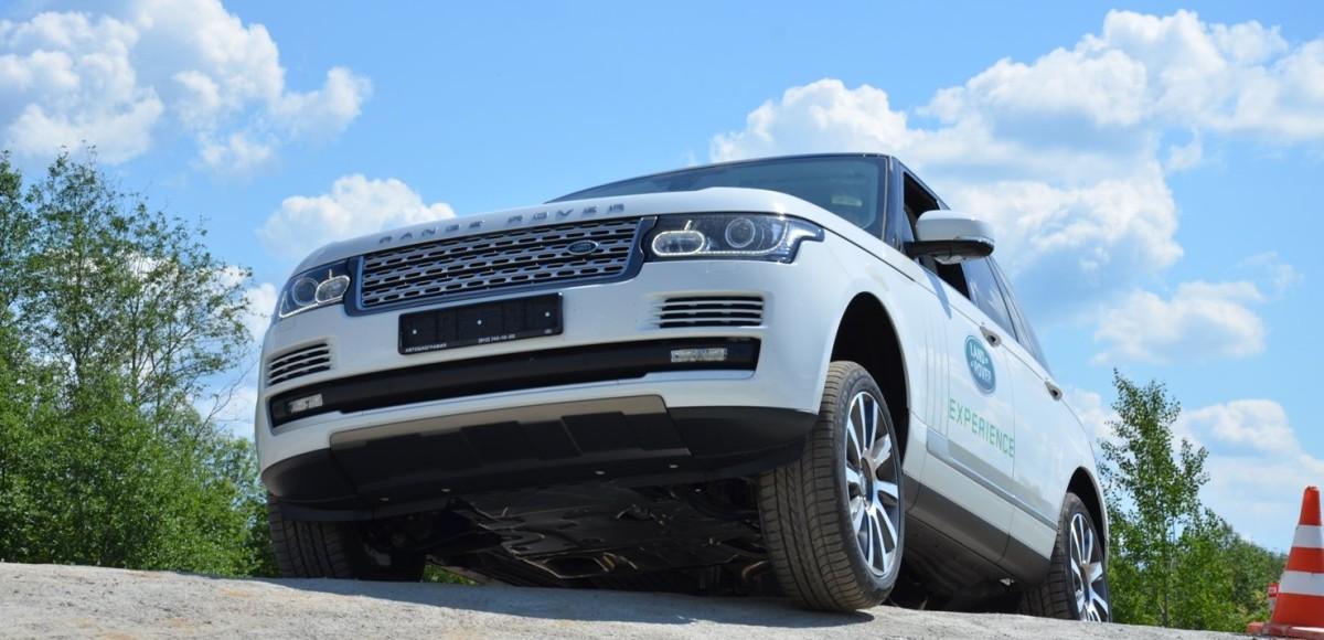 Новые испытания Land Rover Experience