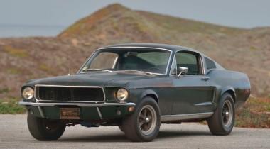 Ford Mustang из фильма «Буллит» продали за рекордные 3,74 млн долларов