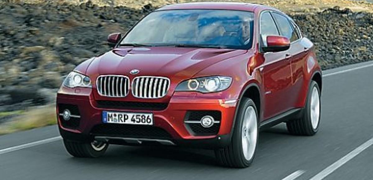 Российская премьера BMW X6 состоялась в Санкт-Петербурге