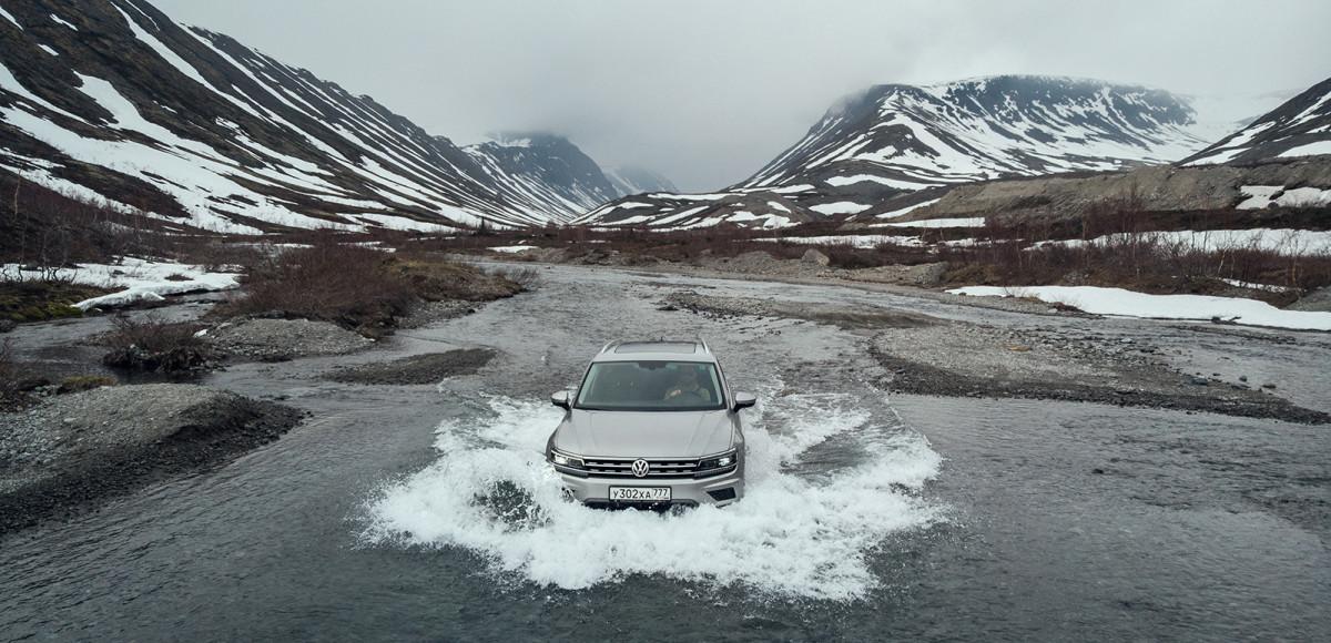 На VW Tiguan по Кольскому полуострову. Русский клондайк