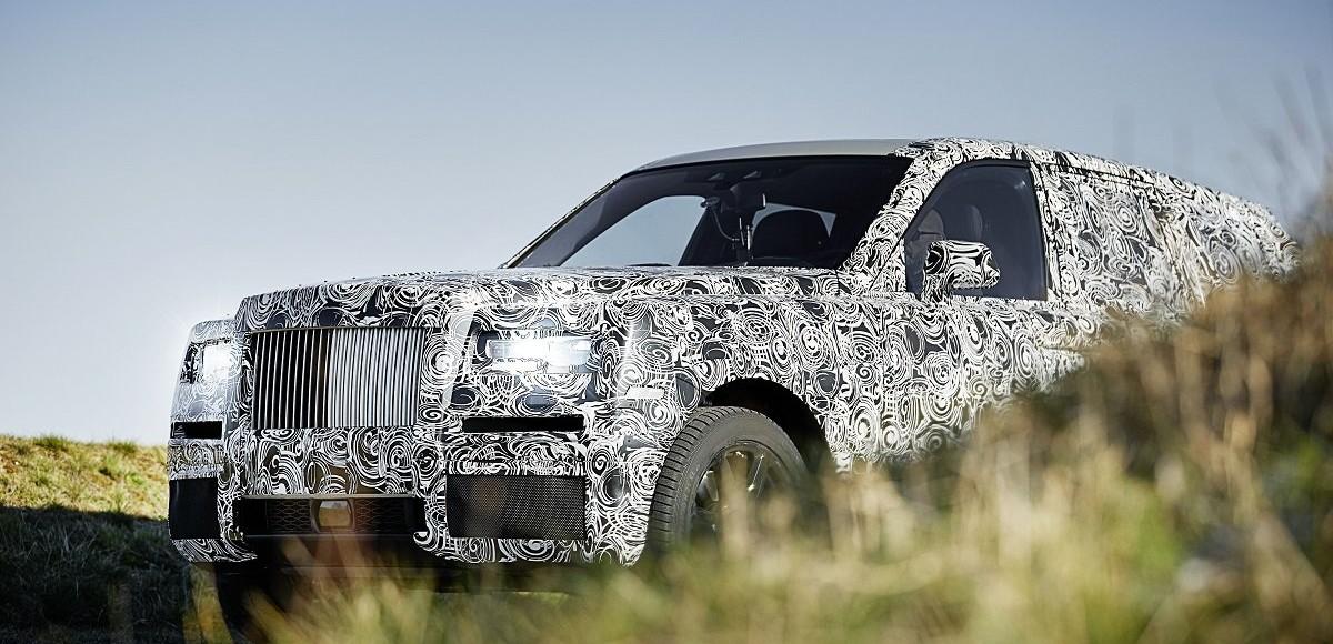 Внедорожник Rolls-Royce Cullinan: первые фото