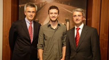 Джастин Тимберлейк стал послом марки Audi