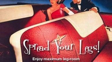 Автомобильная реклама прошлого века
