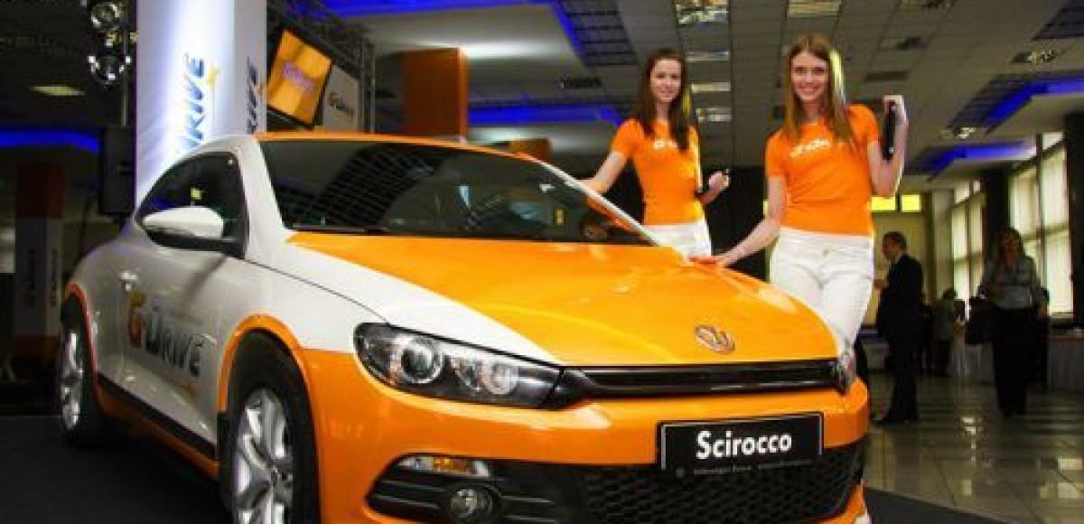 Volkswagen Scirocco презентует G-Drive