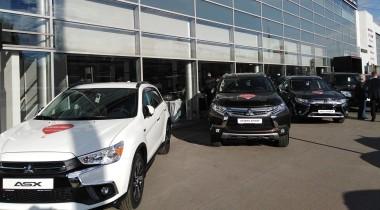 Mitsubishi открыла дилерский центр нового поколения