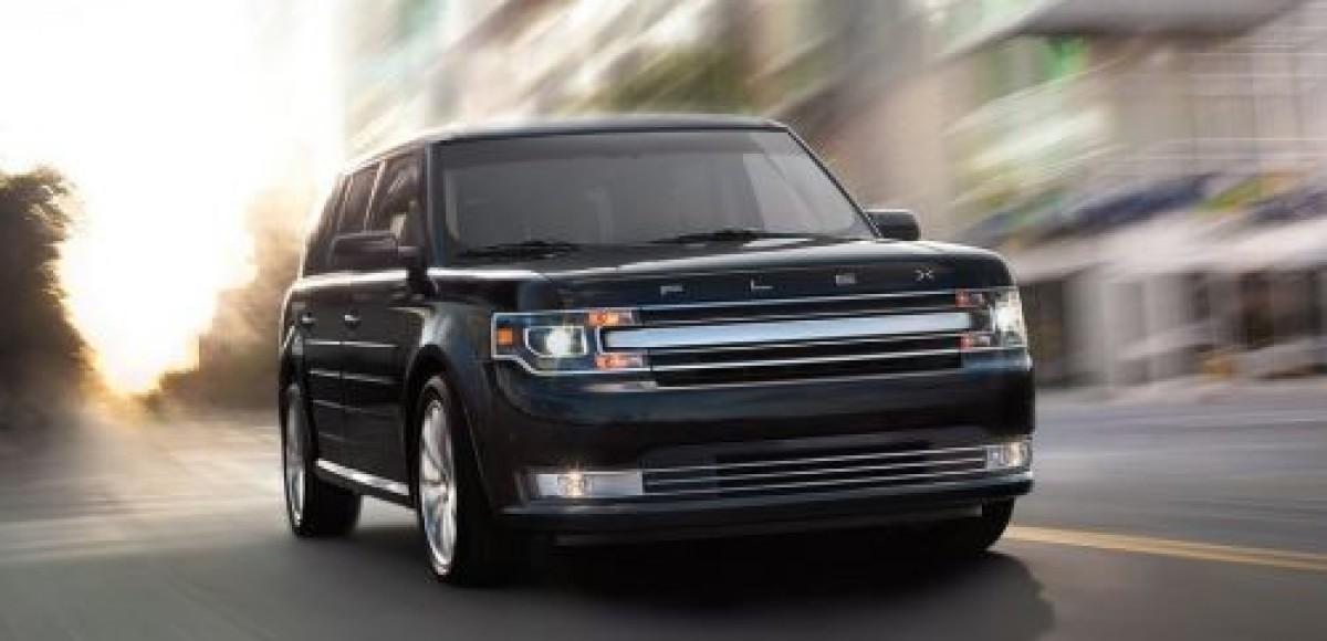 Компания Ford представила обновленный внедорожник Flex