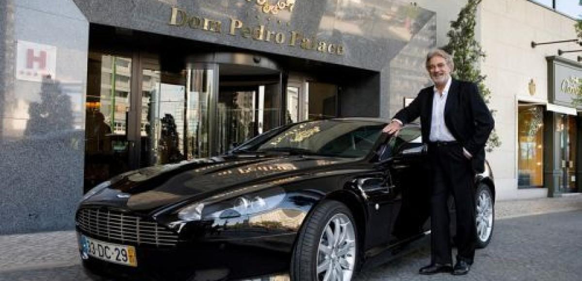 Aston Martin для Пласидо Доминго