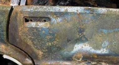 В Петербурге сгорел ВАЗ-21099
