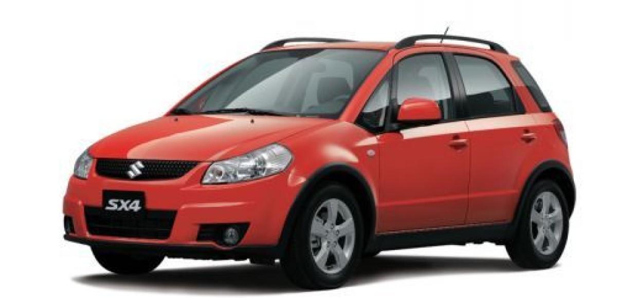 В России стартовали продажи обновленного Suzuki SX4