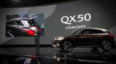 Концепт QX50: каким будет среднеразмерный кроссовер нового поколения от Infiniti