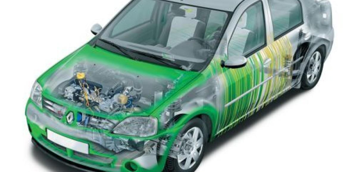 Renault Logan eco2. В квадрате